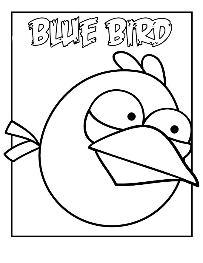 Kolorowanki Angry Birds Dla Dzieci Maluj 1