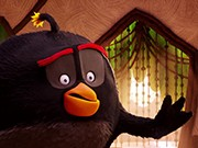 puzzle online Angry Birds Bomba
