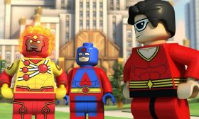 puzzle online Lego Flash Bohaterowie DC