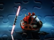 puzzle online Angry Birds Darth Maul graj