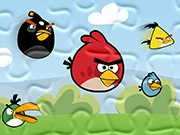 puzzle online Angry Birds atak
