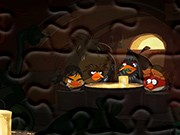 puzzle online Angry Birds Star Wars