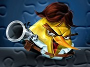 puzzle online Angry Birds Ham Solo