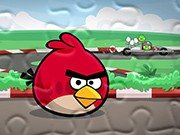 puzzle Angry Birds bolid świń