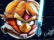 puzzle Angry Birds Luke Skywalker