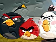 puzzle online Aangry Birds Leia