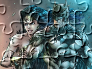 Gry puzzle - Batman i Wonder Woman