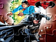 Gry puzzle - Batman  i Superman
