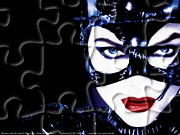 Gry puzzle - Michelle Pfeifer w roli Catwoman