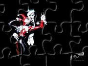 Gry puzzle - Joker i Harley Quinn