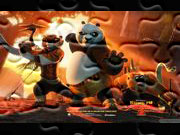 Gry puzzle online Kung Fu Panda