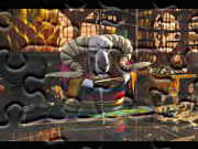 Gry puzzle zagraj online Kung Fu Panda Soothsayer