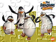 Puzzle online - Zwinne Pingwiny